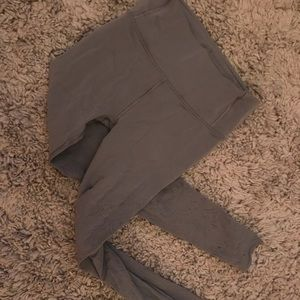 Reveal zen expression lululemon gray leggings 8